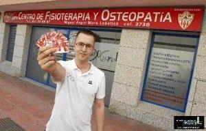 Al futbol gratis con fisiomuro centro de osteopatia y fisioterapia con EPI