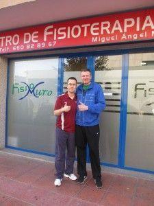 Dimitrije Pejanovic en FisioMuro
