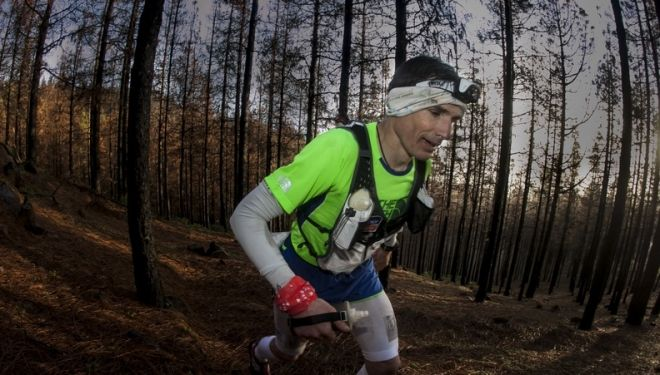 Sebastien Chaigneau en la The North Face Transgrancanaria 2014