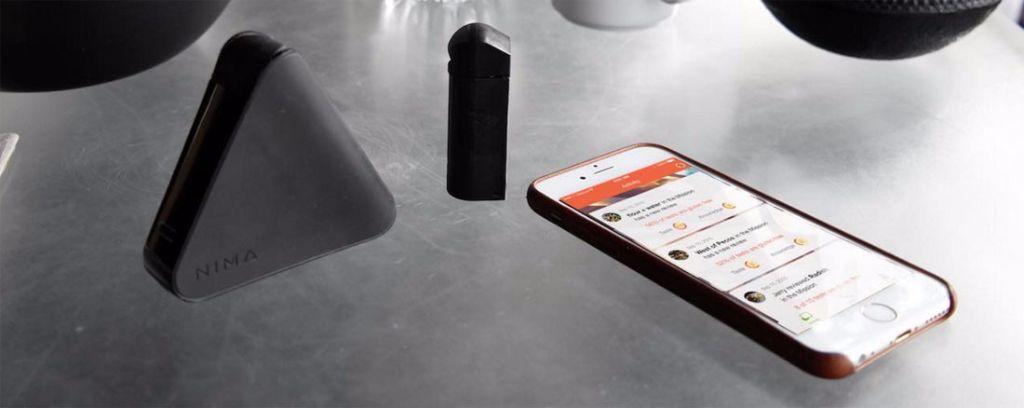 nima-gadget para analizar gluten en alimentos