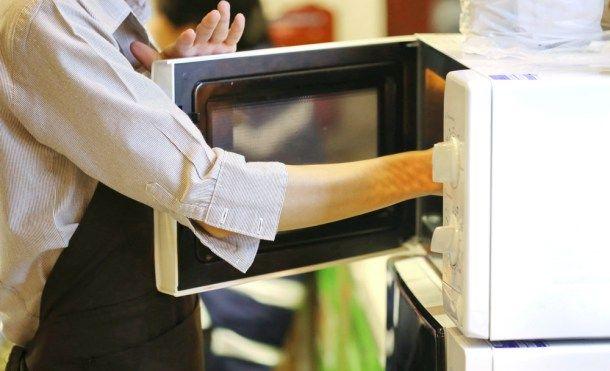 cocinar y calentar en microondas y fisiomuro