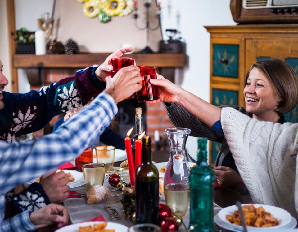 cenas de navidad y fisiomuro